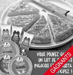 Votre amour pour l'Tortilla espagnole mérite une récompense.