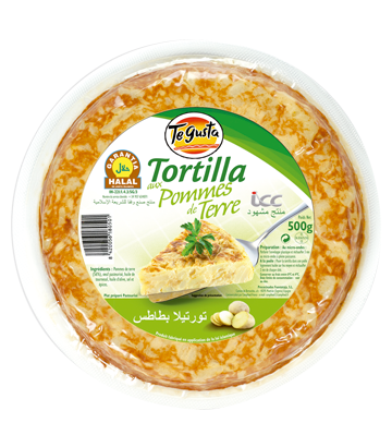 Tortilla nature halal