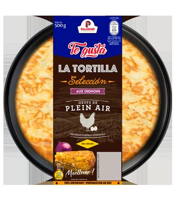 Tortilla maison aux oignons 500gr