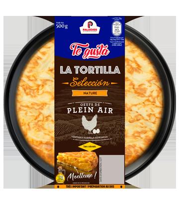 Tortilla maison sans oignons 500gr